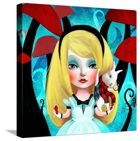 Alice-Meluseena-Stretched Canvas Print