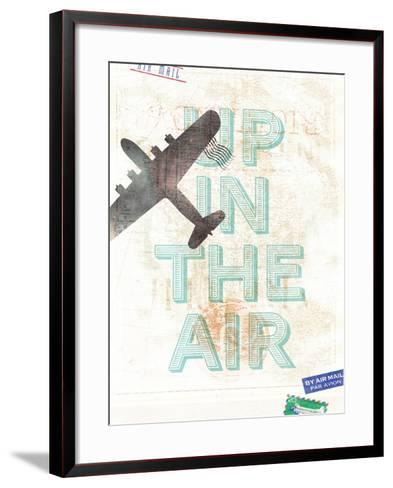 Up in the Air-Hannes Beer-Framed Art Print