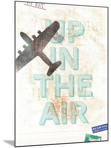 Up in the Air-Hannes Beer-Mounted Art Print