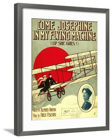 Smithsonian Libraries: Come, Josephine, in my Flying Machine (Up she Goes!)--Framed Art Print