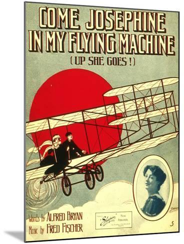 Smithsonian Libraries: Come, Josephine, in my Flying Machine (Up she Goes!)--Mounted Art Print