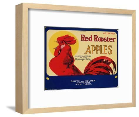 Warshaw Collection of Business Americana Food; Fruit Crate Labels, Smith & Holden Distributors--Framed Art Print