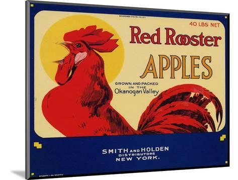 Warshaw Collection of Business Americana Food; Fruit Crate Labels, Smith & Holden Distributors--Mounted Art Print