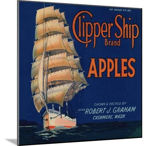 Warshaw Collection of Business Americana Food; Fruit Crate Labels, Captain Robert J. Graham--Mounted Art Print