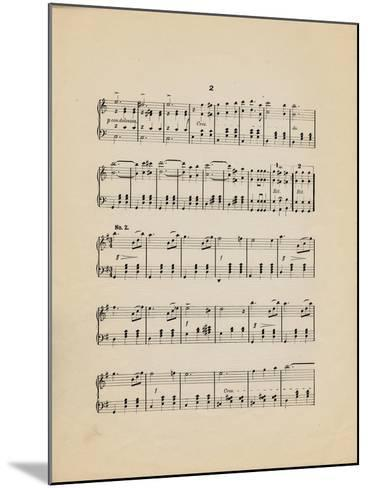 Collection of Illustrated American Sheet Music, Geography Sub Series--Mounted Art Print