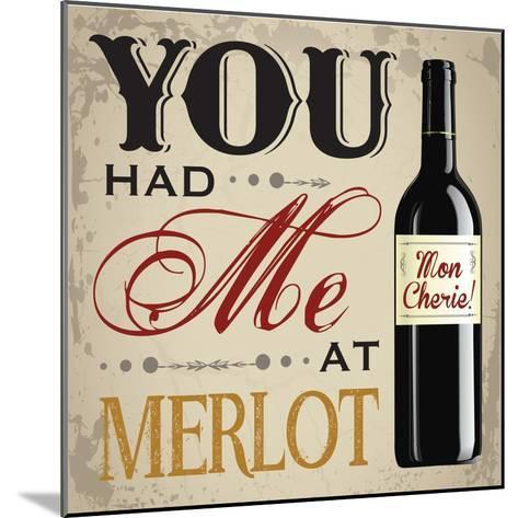 Wine & You 2-Melody Hogan-Mounted Art Print
