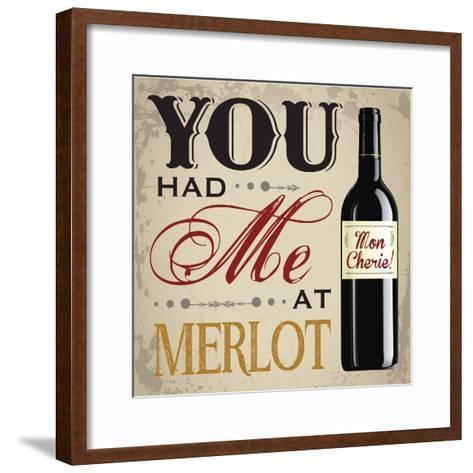 Wine & You 2-Melody Hogan-Framed Art Print