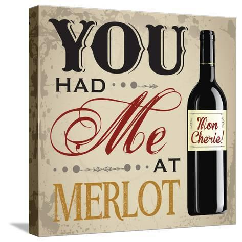 Wine & You 2-Melody Hogan-Stretched Canvas Print