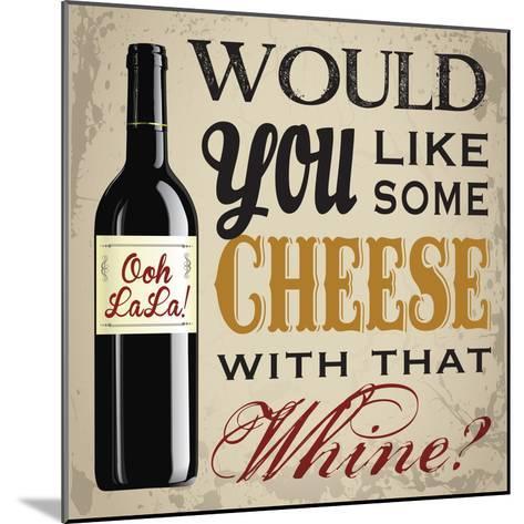 Wine & You 1-Melody Hogan-Mounted Art Print