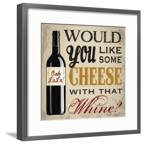 Wine & You 1-Melody Hogan-Framed Art Print