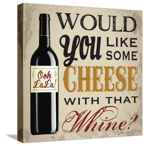 Wine & You 1-Melody Hogan-Stretched Canvas Print