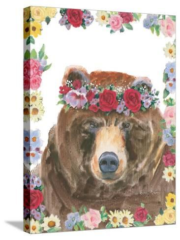 Flower Friends VII-Emily Adams-Stretched Canvas Print
