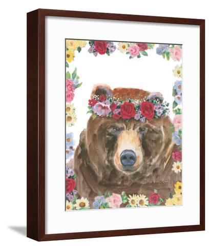 Flower Friends VII-Emily Adams-Framed Art Print