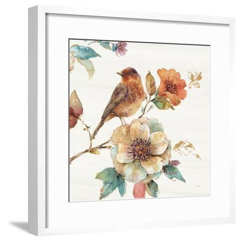 Spiced Nature II Soft White-Lisa Audit-Framed Art Print