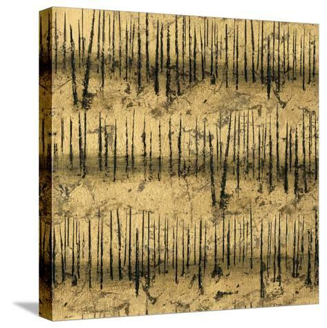 Golden Trees III Taupe Pattern II-James Wiens-Stretched Canvas Print