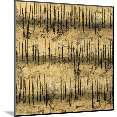 Golden Trees III Taupe Pattern II-James Wiens-Mounted Art Print
