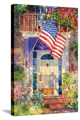 Patriotic Home-Kathleen Parr McKenna-Stretched Canvas Print