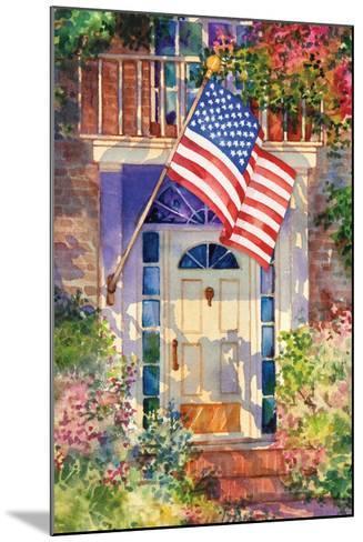 Patriotic Home-Kathleen Parr McKenna-Mounted Art Print
