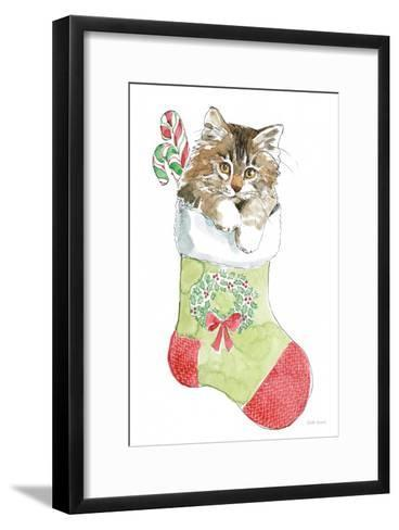 Christmas Kitties IV-Beth Grove-Framed Art Print