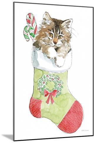 Christmas Kitties IV-Beth Grove-Mounted Art Print