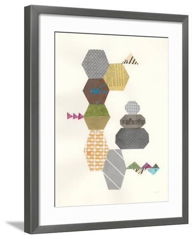 Modern Abstract Design IV-Courtney Prahl-Framed Art Print