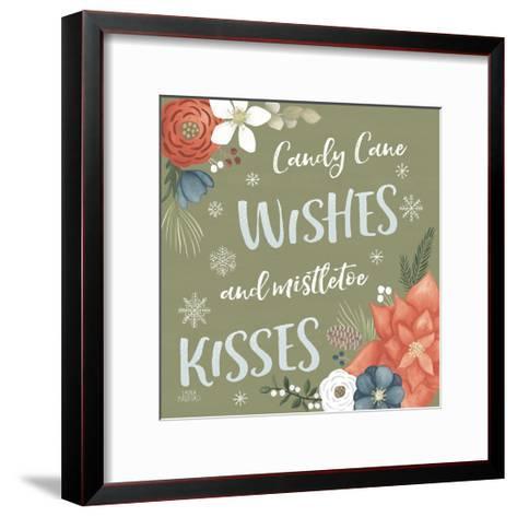 Holiday Garden X-Laura Marshall-Framed Art Print