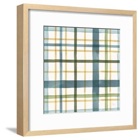 Holiday Garden Pattern VIII-Laura Marshall-Framed Art Print