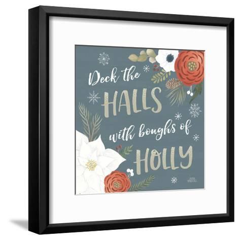 Holiday Garden IX-Laura Marshall-Framed Art Print