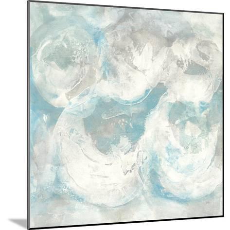 Pale Blue Circles IV-Chris Paschke-Mounted Art Print
