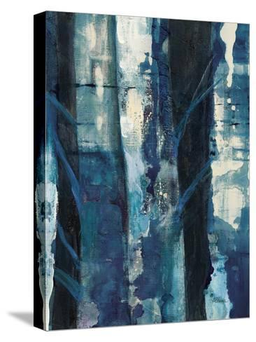 Deep Woods I Indigo-Albena Hristova-Stretched Canvas Print