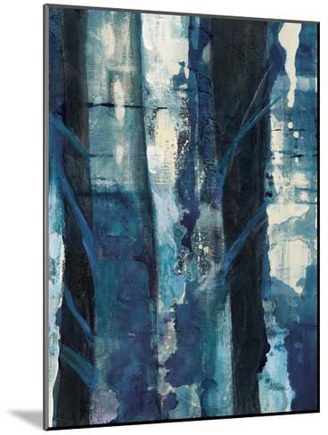 Deep Woods I Indigo-Albena Hristova-Mounted Art Print