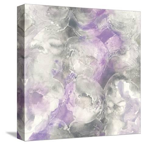 Amethyst Circles I-Chris Paschke-Stretched Canvas Print