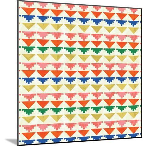 Wild Wood Tiles II Bright--Mounted Art Print