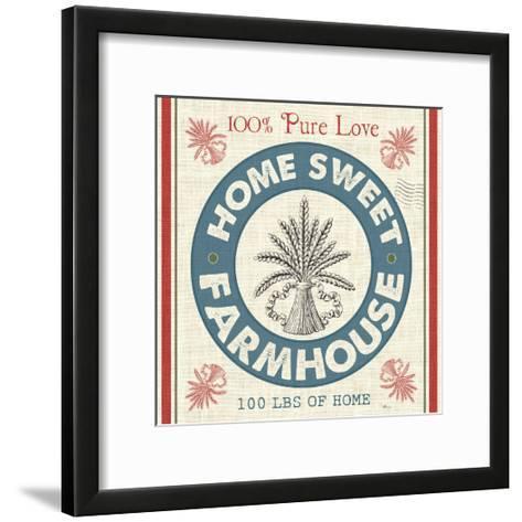 Sweet Farmhouse I--Framed Art Print