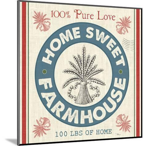 Sweet Farmhouse I--Mounted Art Print