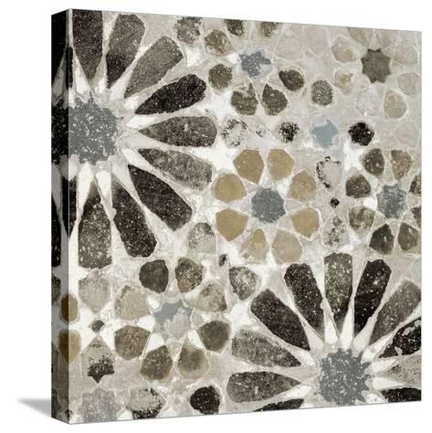 Alhambra Tile II Neutral-Sue Schlabach-Stretched Canvas Print