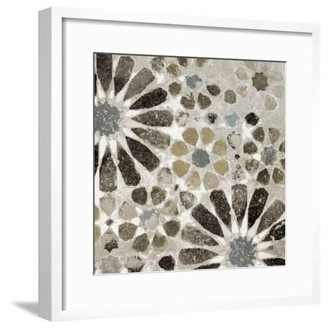Alhambra Tile II Neutral-Sue Schlabach-Framed Art Print