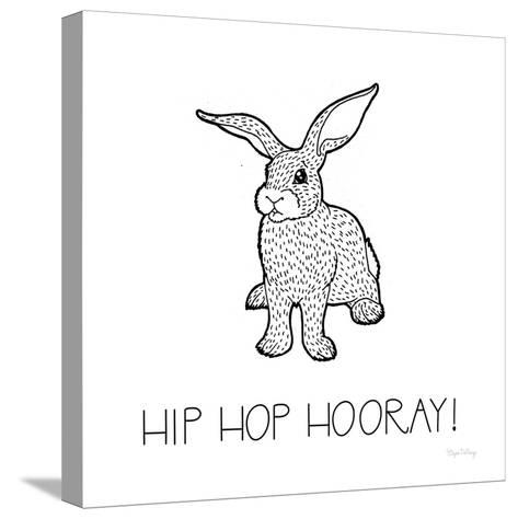 Color the Forest XI Hip HIp Hooray-Elyse DeNeige-Stretched Canvas Print