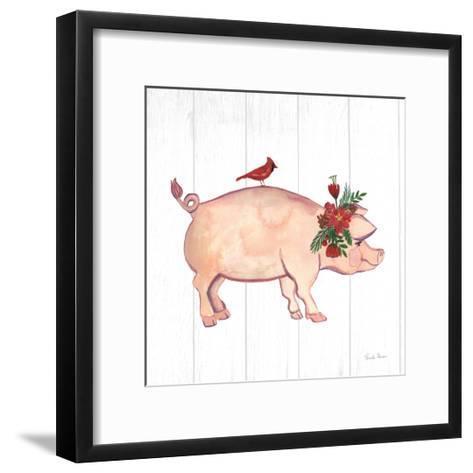 Holiday Farm Animals I-Farida Zaman-Framed Art Print