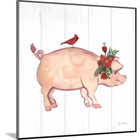Holiday Farm Animals I-Farida Zaman-Mounted Art Print