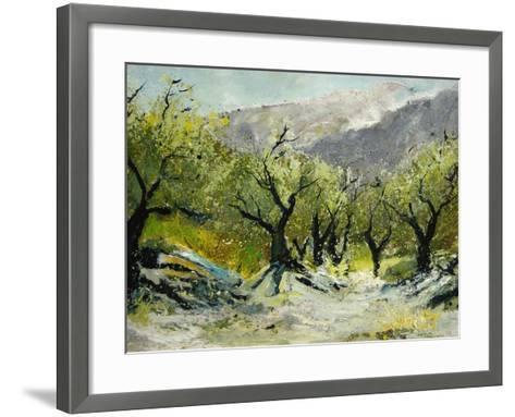 Olivetrees-Pol Ledent-Framed Art Print