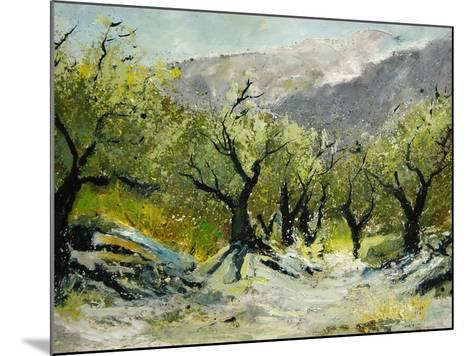 Olivetrees-Pol Ledent-Mounted Art Print