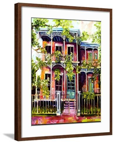 Garden District Fancy-Diane Millsap-Framed Art Print