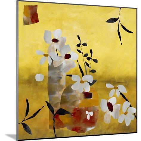 White Floral Collage II-Ruth Palmer-Mounted Art Print