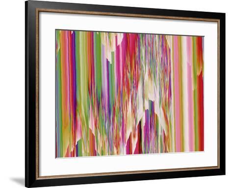 Pink Ice II-Ruth Palmer-Framed Art Print