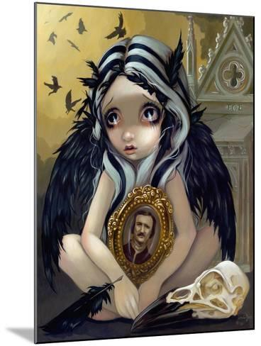 Nevermore-Jasmine Becket-Griffith-Mounted Art Print
