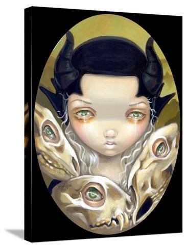 Delicate Bones-Jasmine Becket-Griffith-Stretched Canvas Print