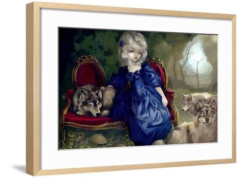 Loup-Garou:? La Tristesse-Jasmine Becket-Griffith-Framed Art Print