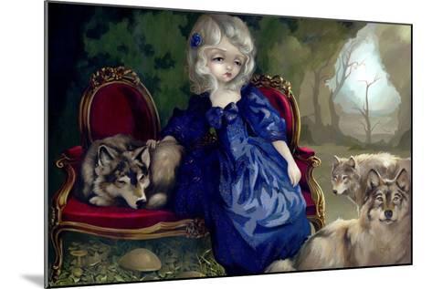 Loup-Garou:? La Tristesse-Jasmine Becket-Griffith-Mounted Art Print