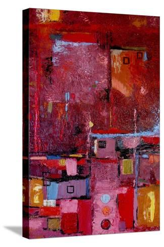 Many Mansions-Ruth Palmer-Stretched Canvas Print